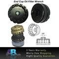 Черный Корпус Масляного Фильтра Инструмент Алюминиевая Чашка Ключ 14 Флейты Для Lexus Toyota Corolla axio Автомобиль Аксессуары