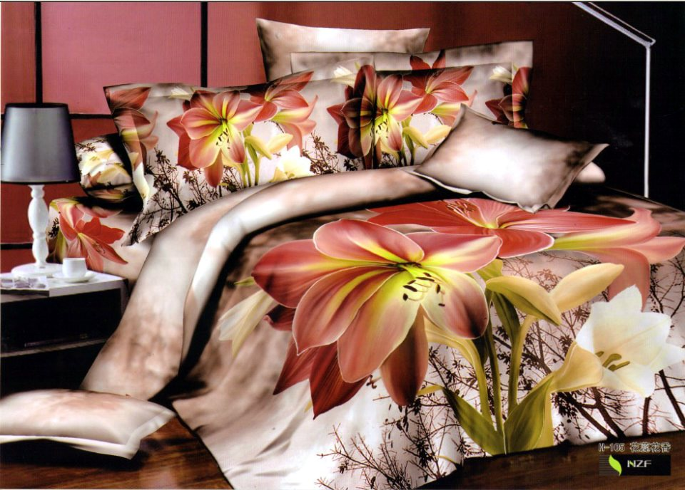 Tiger Skin Brown /& Zebra Skin  Print Duvet Cover With Pillowcase  Bedding Set