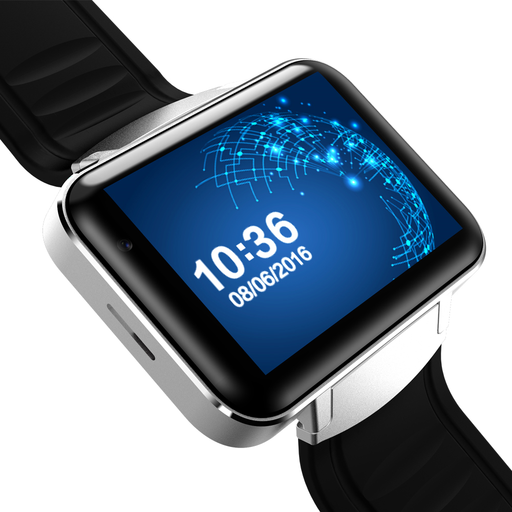 GPS Smart Watch 2G/3G Bluetooth 2.2 inch Android 4.4 iOS Activity Tracker Smartwatch Phone Clock For Men 1.2GHz 4GB ROM Camera цена