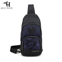 ARCTIC HUNTER Fashion Business Casual Messenger Bags Male Brand CHEST BAG MEN Waterproof Large Capacity Shoulder