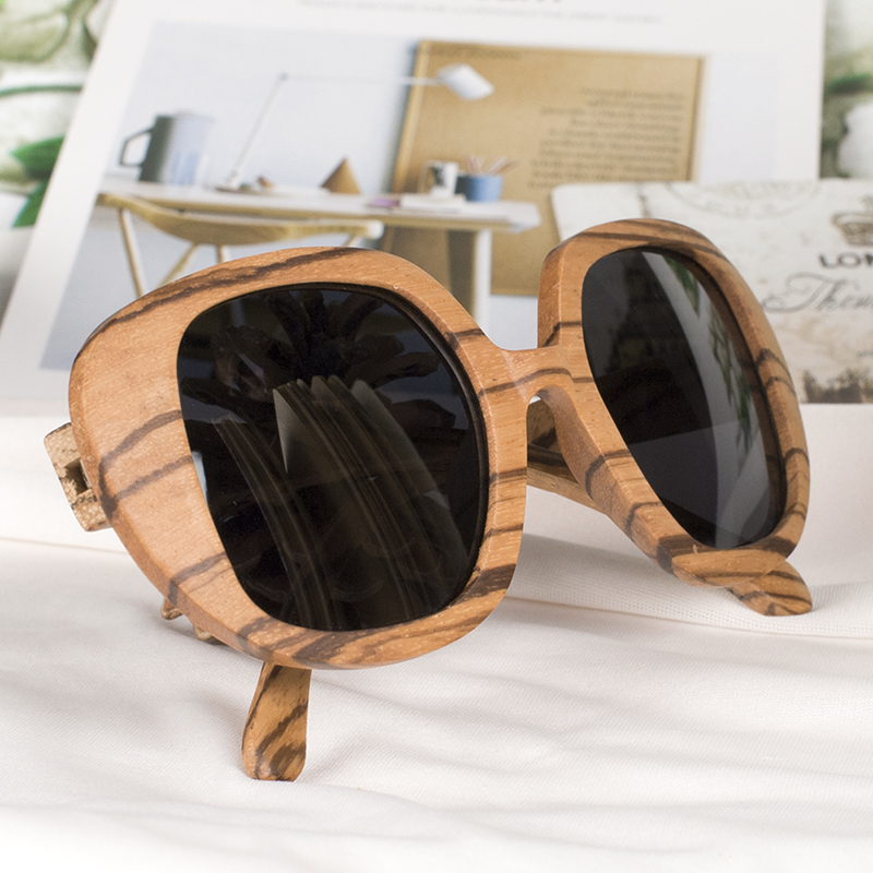BOBO BIRD Polarized Retro Eyewear Wood Sunglasses 10