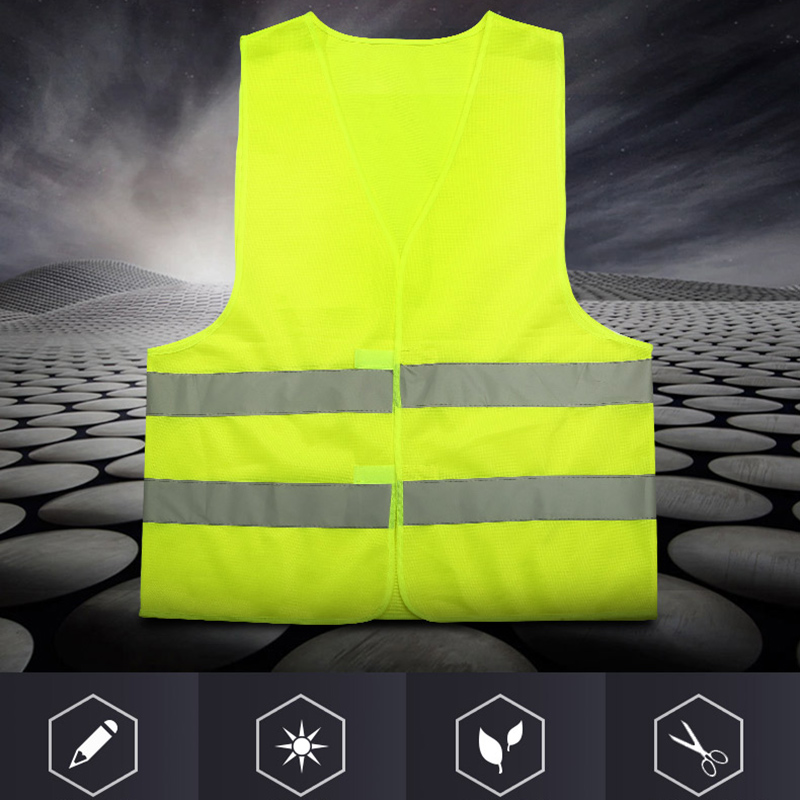 Security & Protection Safety Clothing Reflective Vest Sanitation Building Construction Mesh Vest For Fast Shipping