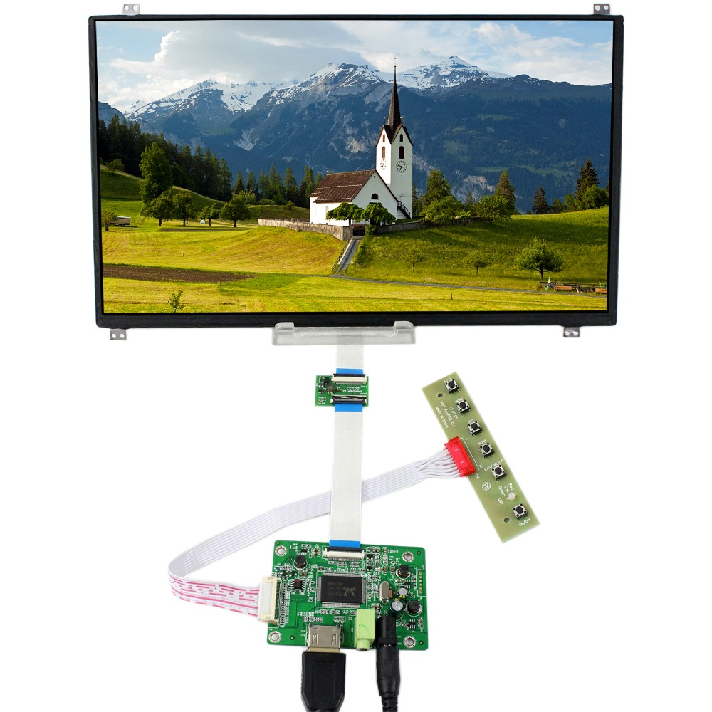 HDMI LCD Controller Board With 13.3inch 1920x1080 N133HSE-EB2 eDP IPS LCD Screen hdmi vga audio lcd controller board with 11 6inch 1920x1080 n116hse ips lcd screen