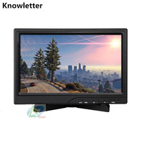 10.1'' Widescreen 1920X1200 IPS LED Panel Full HD 1080P 1080I Monitor Support HDMI for XBox PS WiiU Game Console /Raspberry Pi