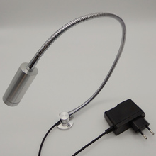 AC85-265V/12V/24V 1W Led Bedside Reading Light With Flexible Pipe цена и фото