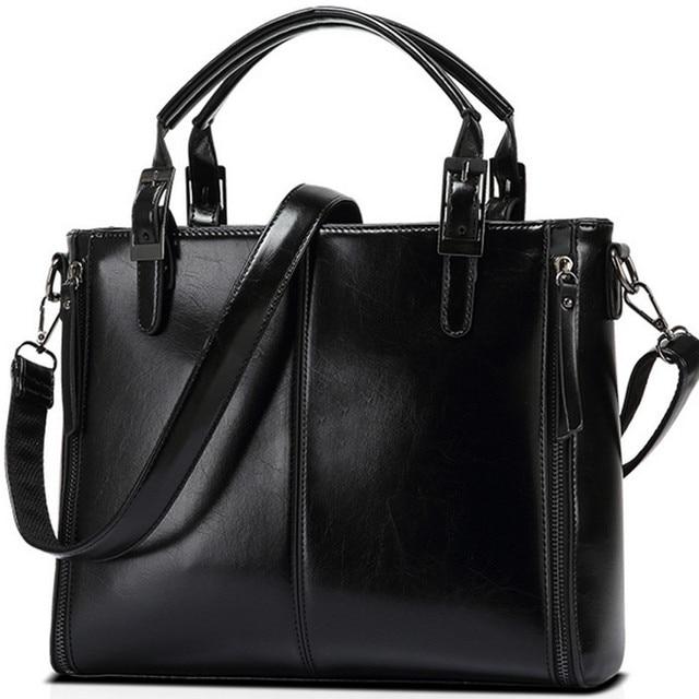 Charm in hands casual women handbags famous brands high quality leather women messenger bags female big women shoulder bag CQ5