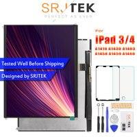 SRJTEK 9.7 LCD Display For iPad 3 4 iPad3 iPad4 A1416 A1430 A1403 A1458 A1459 A1460 LCD Matrix Screen Tablet Panel Monitor