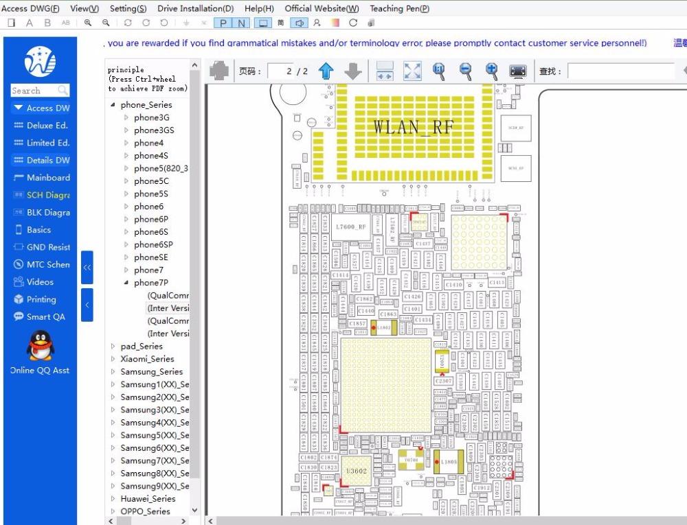 Fixphone Wuxinji Dongle Platform For Iphone Ipad Samsung Bitmap Pads ...