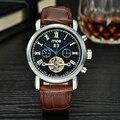 mce branded Men watch Gent Black Tourbillon Date Vintage Mechanical Watch Free Shipping Relogio Masculino 204