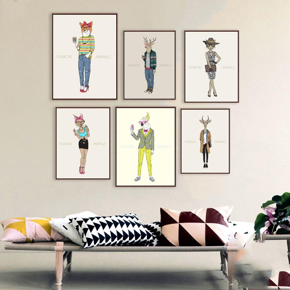 Aliexpress.com : Buy Nordic Canvas Painting Fashion Design Show ...