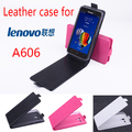 High Quality New Original For Lenovo A606 Leather Case Flip Cover for Lenovo A 606 Case Phone Cover In Stock