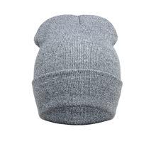 Chapeu Masculino 2017 Nuevo invierno sombrero de Color sólido suave  caliente Beanie cráneo tapa de punto Gorro gorras para hombr. 63cc2e8e427