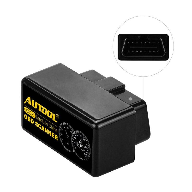 AUTOOL Elm327 V1.5 WIFI Bluetooth Авто OBD 2 II Eml327 Obd Автомобильный сканер для автомобильного считывателя кодов Pic18f25k80 диагностические инструменты