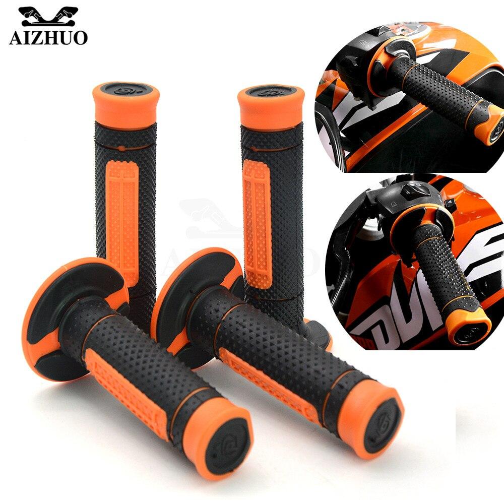 Handle Grips HandleBar Rubber Pro Motocross Motorcycle For KTM WRF EXC SX SXF CRF YZF DRZ DIRT PIT RMZ ATV 690 Duke