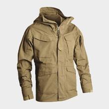 Мужская тактическая одежда армии США ветрозащитная Военная Полевая куртка пальто с капюшоном Casaco Masculino ветровка мужская осень зима