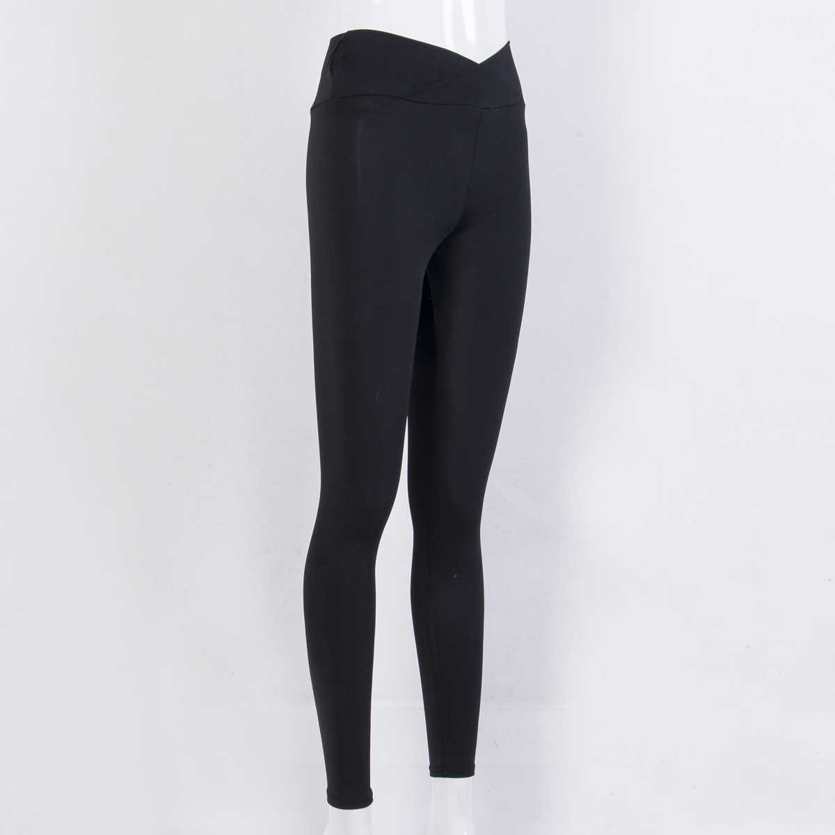 Yeni Moda Bayan Yüksek Bel Elastik Tayt Spor Egzersiz Uzun dar pantolon Pantolon Rahat Bayan Uzun Tayt
