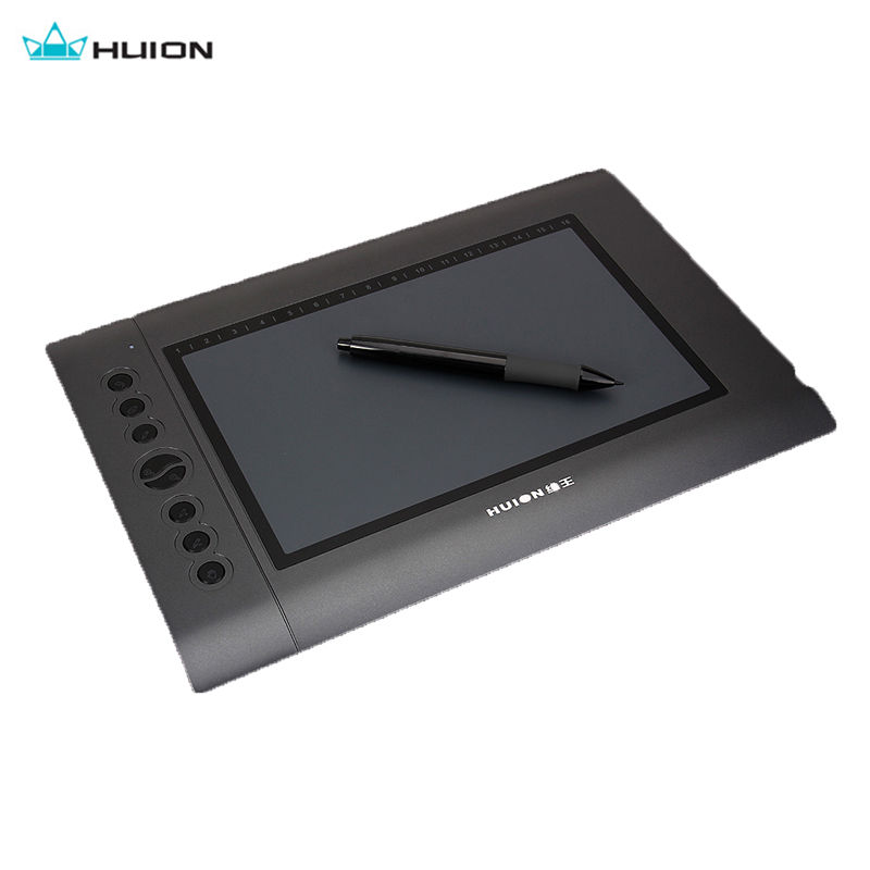 Huion H610 Digital Tablets 10x6.25 USB Art Graphics Drawing Tablet Writing Pad Cordless Pen Board Graphic Tablet Wireless huion h610 8 expresskey usb graphic pen tablet black