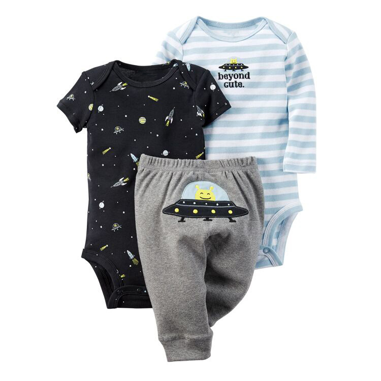 baby set 2 pcs rompers + pants newborn/boys/girls long sleeve baby clothing cotton baby rompers set newborn clothes baby clothing boys girls cartoon jumpsuits long sleeve overalls coveralls autumn winter