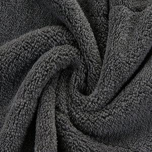 Image 4 - 1pc 30*30/30*40/30*60 洗車タオルマイクロファイバーカークリーニング乾燥布マイクロファイバー洗濯乾燥タオル強力な厚いぬいぐるみ