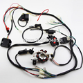 150 200cc 250cc 300cc ATV QUAD Full Electrics Wiring Harness Rectifier CDI COIL NGK solenoid rectifier,Zongshen Loncin