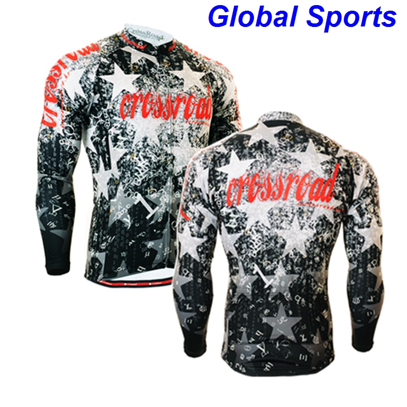 2017 vintage cycling jersey quality MTB riding jerseys mens rock racing cycling jersey for biking riding climbing