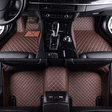 ETOATUO Custom car floor mats for Audi all model a3 8v a4 b7 b8 b9 q7 q5 a6 c7 a5 q3 tt cc car styling car accessories(China)