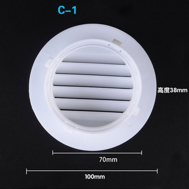Air Conditioning Hole Connector Plug Decoration Cover Wall
