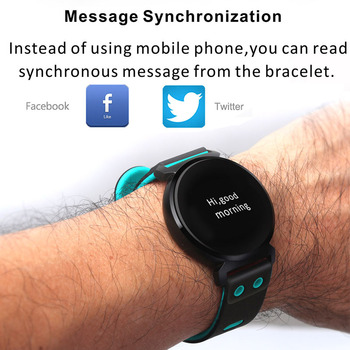 Men Heart Rate Monitor Smart Watch Pedometer Sport Bracelet Waterproof Man Wrist Watch Women Intelligent Bluetooth Smartwatch