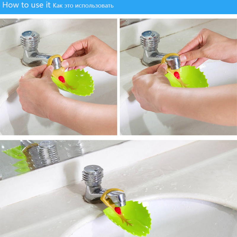Chidlren Cartoon Sink Baby Bath Tap Animal Bathroom Kitchen Faucet Extender  For Kids Washing Hands Wash Silicone Shampoo Cap  In Shampoo Cap From  Mother ...
