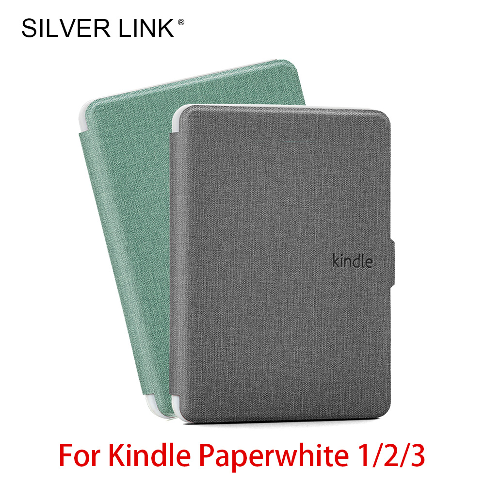 SILVER LINK White Kindle Paperwhite 1/2/3 Case Silicon Skin Soft Cover For Kindle E-Reader Auto Sleep/Wake Up Dissipate Shell 1pcs qiguan desktop motherboard diagnostic card pci e lpc diagnostic card desktop notebook mini dubug card yf071 relays