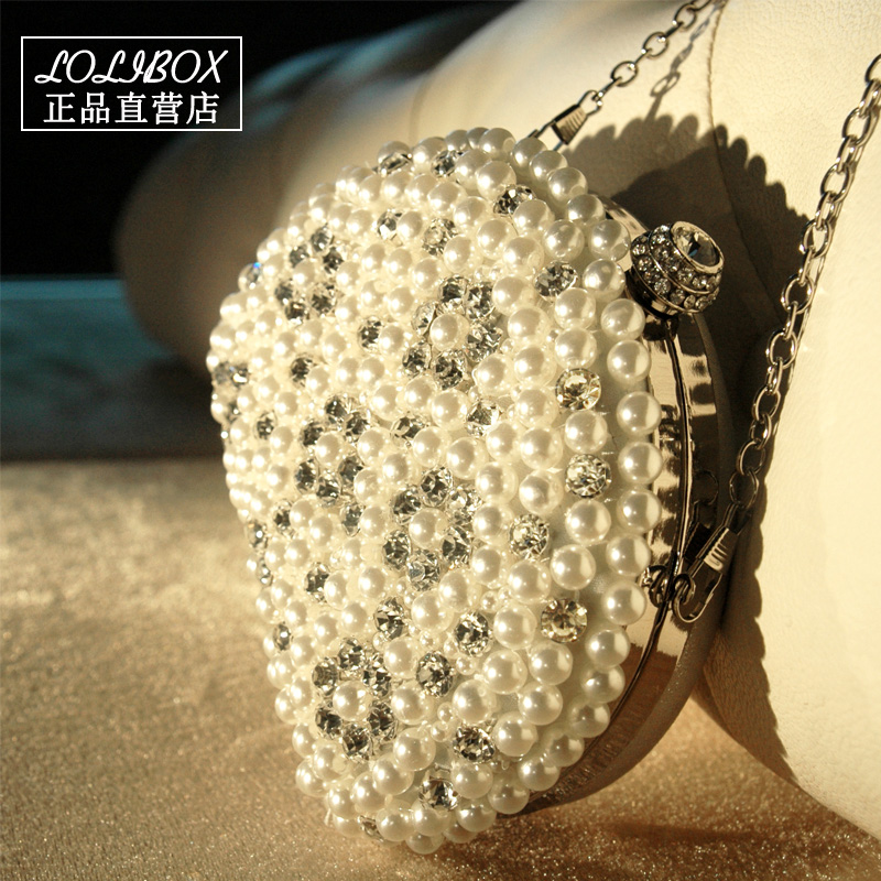 Hasp Pocket Clutches-Bags Pearl Diamond with Min-Day Evening Bolsa-Bolsos Hot-Selling-Style