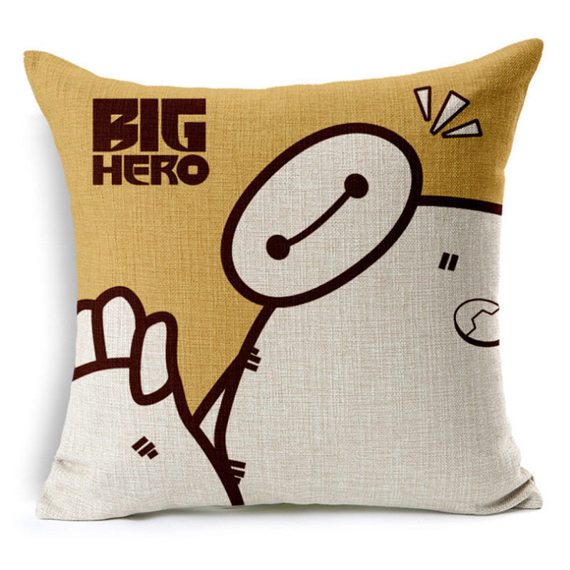 2016 Cartoon Cushion Without Core Custom Cotton Linen Animal Decorative  Throw Pillows Sofa Chair Cushions Home