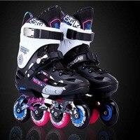 Slalom Inline Skates Roller Skating Schuhe Männer Frauen Slalom Schiebe Freies Skating Schuhe Patines Adulto Original Cougar MZS509 IA20