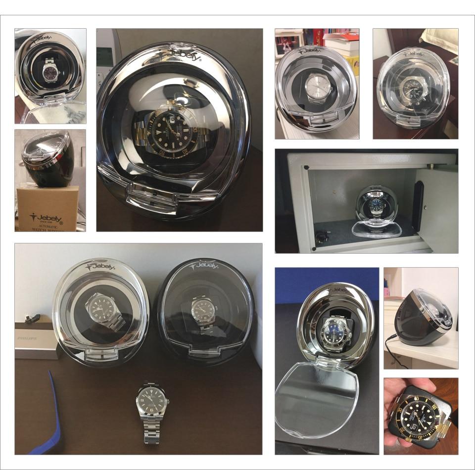 Jebely Black Single Watch Winder para relojes automáticos Winder - Accesorios para relojes - foto 6