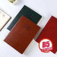 FARAMON B5 2018 Thicken Schema Business Efficiëntie Brochure Notepad 1 STKS