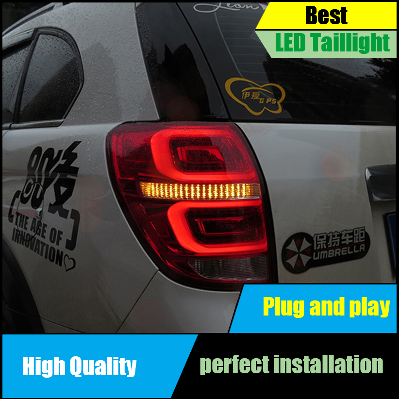 Car styling Taillight for Chevrolet Captiva Taillights 2008-2016 LED Tail Lamp LED Rear Lamp Driving+Brake+Park+Signal light