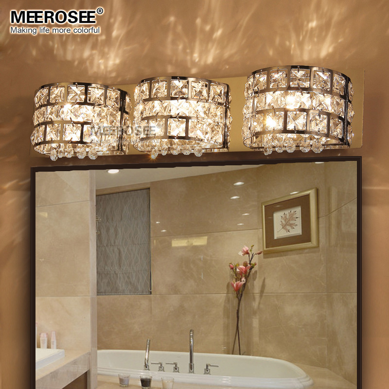 Fast Shippment Luxurious Crystal Wall Lamp Chrome Aisle Hallway Wall ...