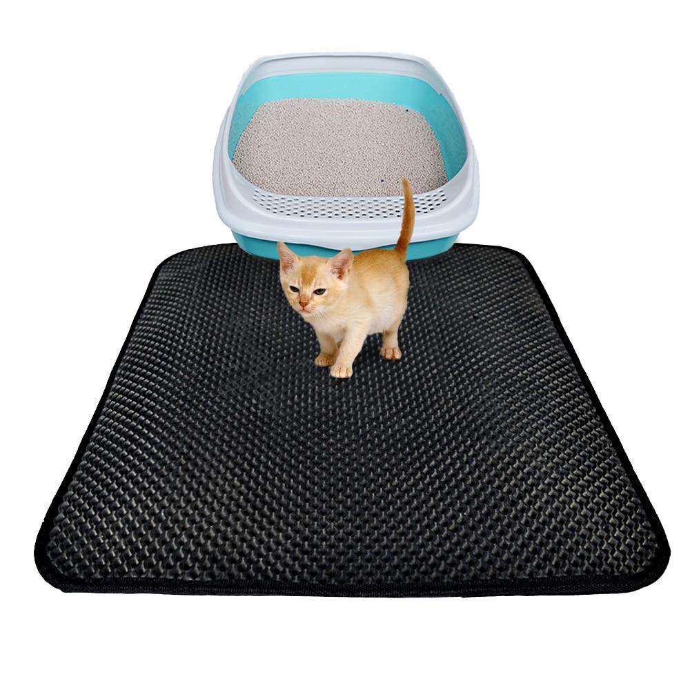 Cat Litter Trapper Mat Folding Waterproof Honeycomb