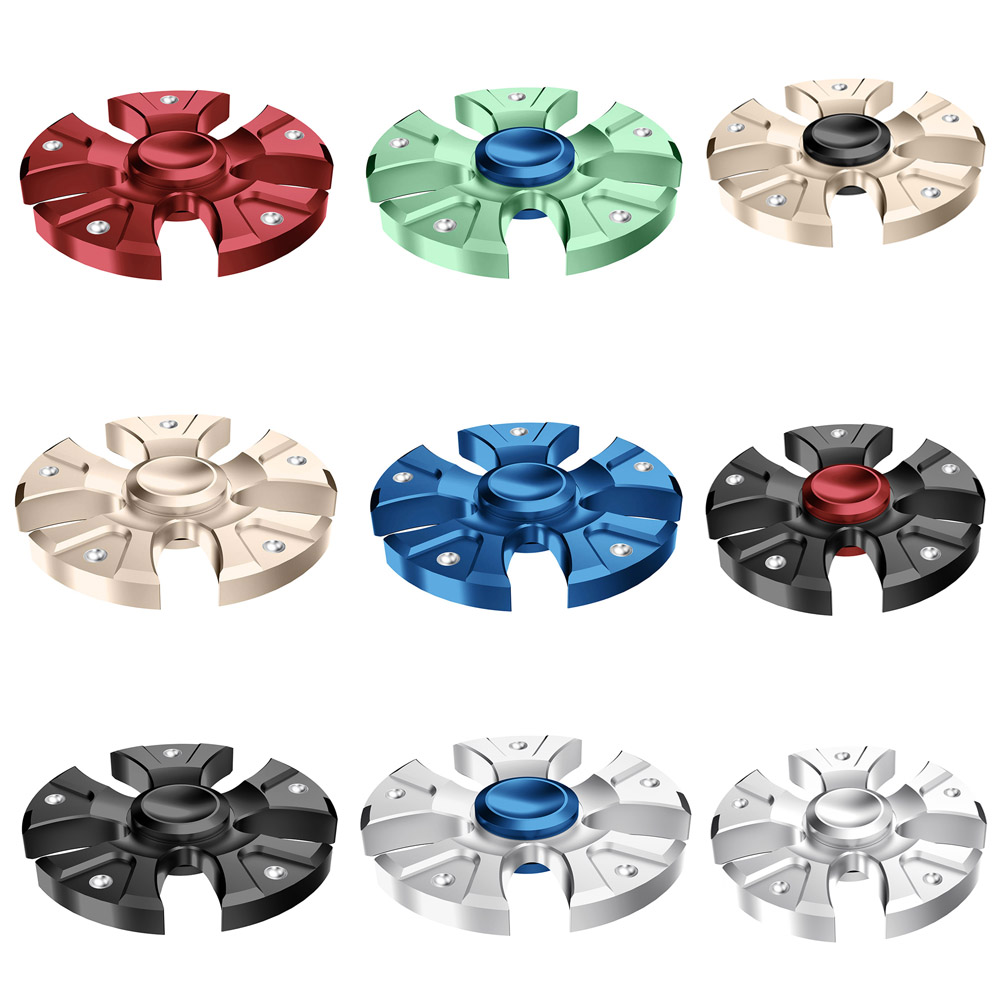 New Colorful Wheels Fidget Spinner Toy Hand Spinner Rotation Time Long For Autism And ADHD Kids/Adult Funny Anti Stress
