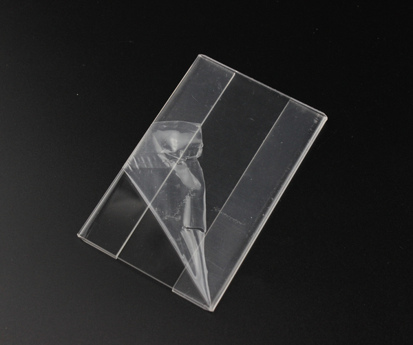 Acrylic Tag Label Holder Frame Wall Mounted Label Display POP Sign Case Name Card Holders Shelf Data Strip Price Talker T1.3mm