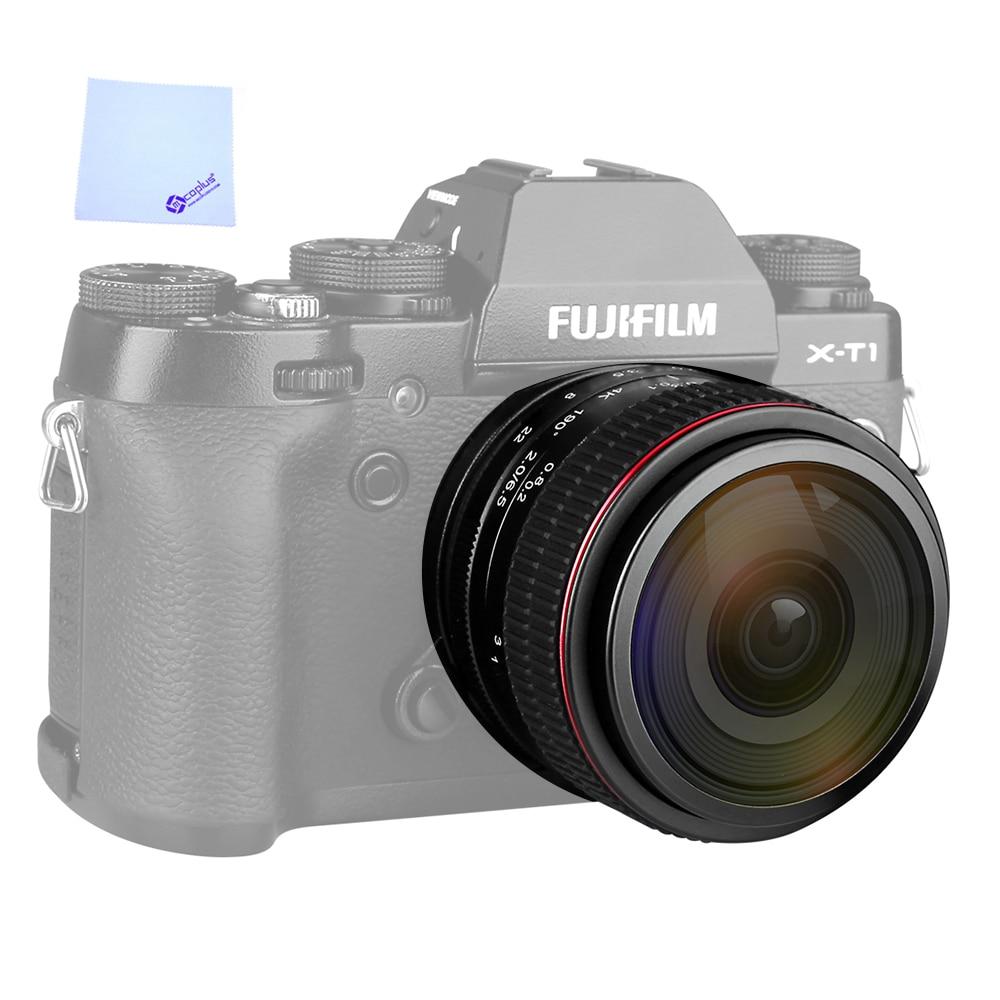 MEIKE MK-6.5mm F2.0 Fisheye Lens for Fujifilm X-Mount Camera X-Pro1 X-Pro2 X-E1 X-M1 X-A1 X-E2 X-T1 X-A2 X-T10 X-E2s X-T2 X-A3 wireless shutter release remote control for fuji fujifilm x pro2 x a10 x t10 x t20 x e2 x e2s x e3 x m1 x a1 a2 a3 xq1 x100f x70