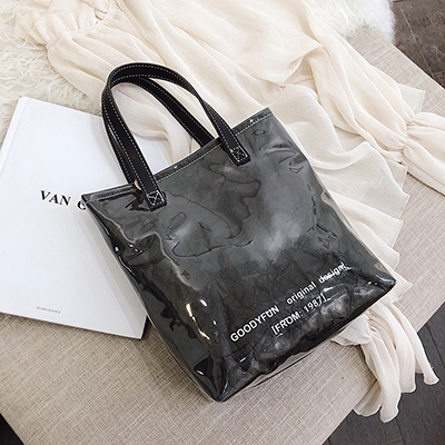 Kraft Transparent Bag With...