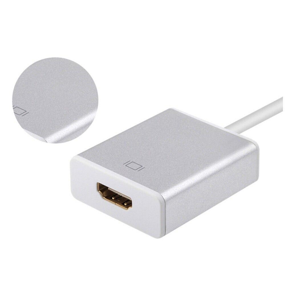 USB C USB 3.1 Type C to HDMI Adapter 4K 1080P HDTV AV TV Audio Video Converter for Macbook LG G5 Samsung S8 S9 to TV Projector