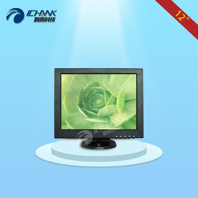 B120JN-ABHUV-1/12 polegada monitor/12 polegada display 800x600/12 polegada equipamento industrial monitor de tela positivo/pequeno monitor HDMI;