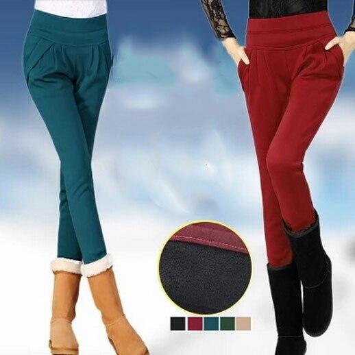 Winter Thick Velvet Warm Leggings For Women  Black Plus Size Fitness Workout Jeggings Leggings MF5896321