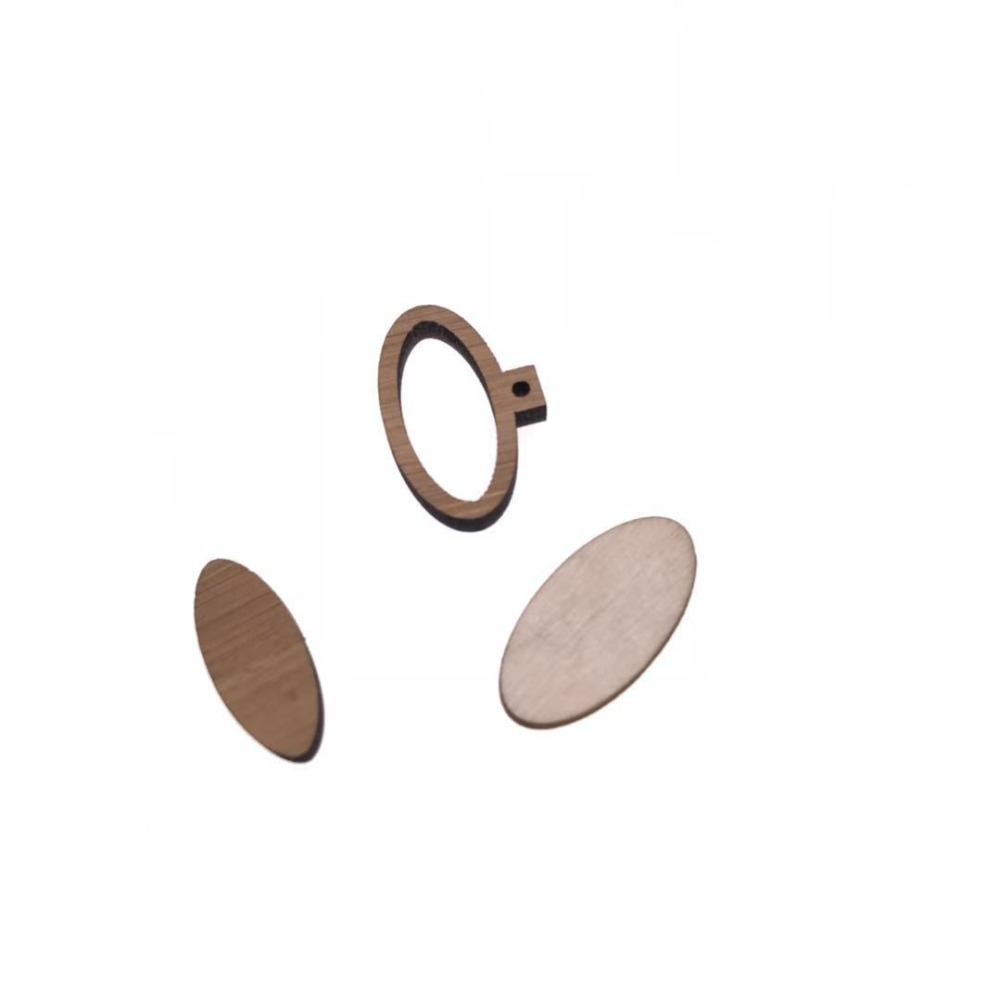 Natural Wooden Linking Rings Crafts Hoops Choice of Sizes-Plain Organic DIY