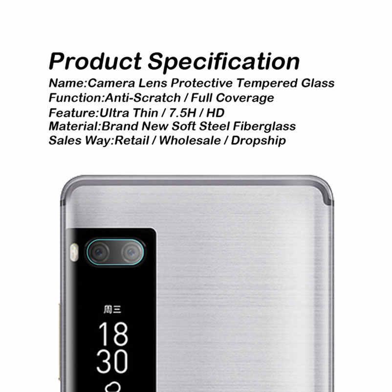 Dla Meizu X8 Pro 7 plus Pro 6 6 s 5 uwaga 8 16th Plus 16x Mx6 z powrotem do aparatu folia ochronna na ekran szkło hartowane pełna obudowa