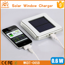 High-efficiency micro usb car charger patented solar charger/solar panel charger/window solar charger