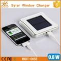 Patentado de alta eficiencia cargador de coche micro usb cargador solar/cargador de panel solar/cargador solar ventana