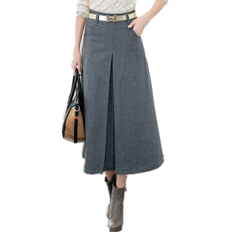 Black Long Skirts for Women Promotion-Shop for Promotional Black ...